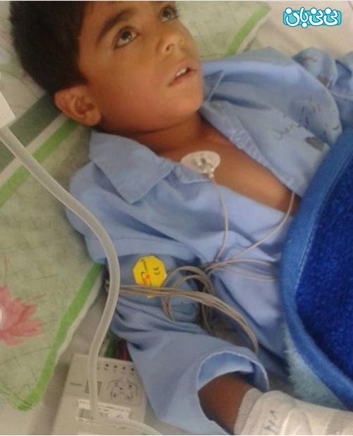 اینستاگرام نعیمه نظام دوست، به این کودک کمک کنید