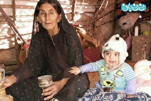 اینستاگرام هدیه تهرانی، کودکان جازموریان فراموش شده اند