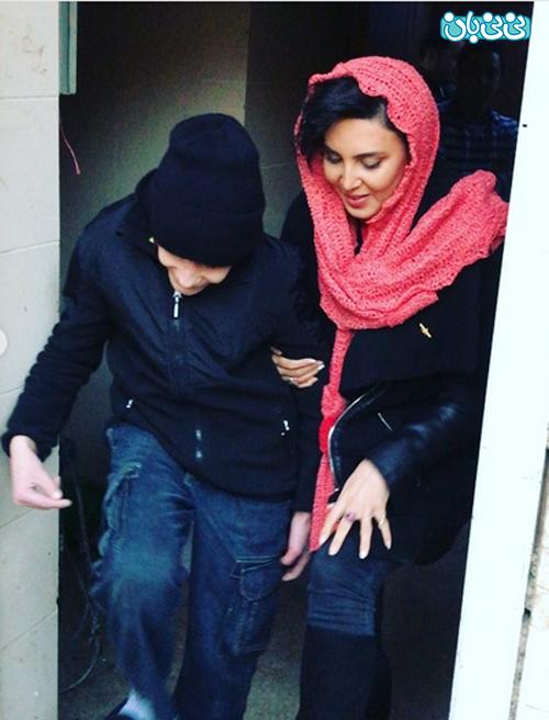 اینستاگرام لیلا بلوکات، برای امین دعا کنید