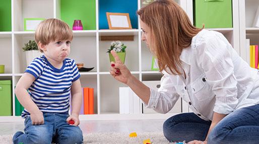 علت بددهنی کودک، رفتار درست