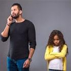 تاثیر فضای مجازی بر خانواده، کودکان گله دارند