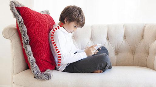 قوز نشستن کودک، راه درمان