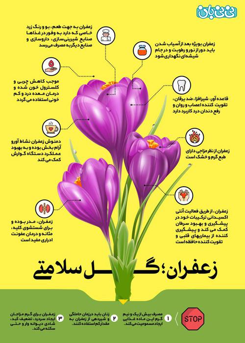 ممنوعیت های استفاده از زعفران در بارداری