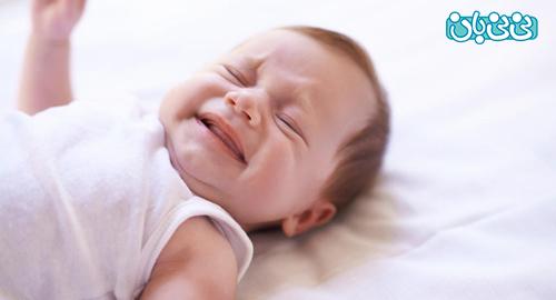 چرا نوزاد بیقراری میکند