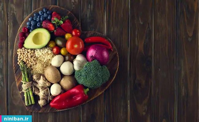 مصرف میوه و سبزیجات