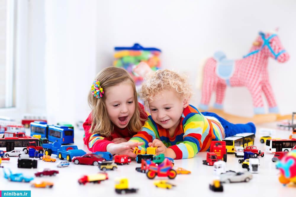 انتخاب اسباب بازی کودک