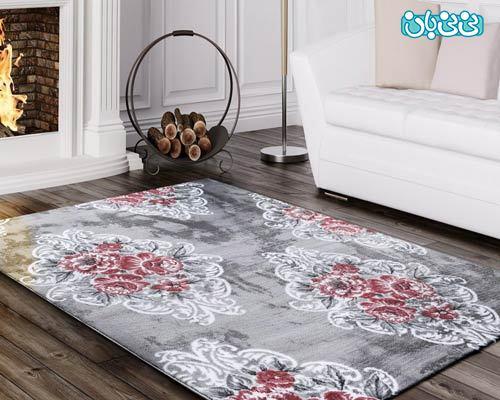 فرش فانتزی طرح آبرنگی مناسب اتاق کودک