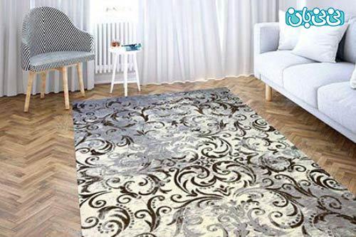 فرش فانتزی طرح آبرنگی