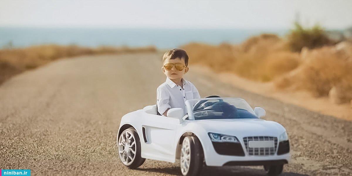 خرید ماشین شارژی کودک، رانندگی با چاشنی هیجان کودکانه