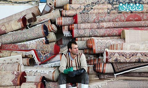 قالیشویی آنلاین در غرب تهران و هزینه آن