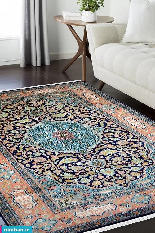 انواع فرش ابریشم
