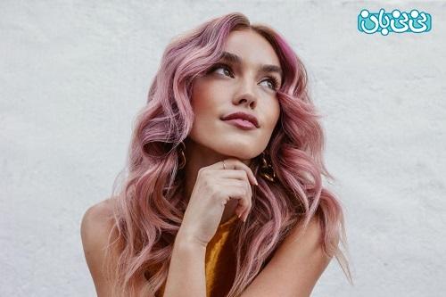 رنگ موی جدید تابستانه 1400
