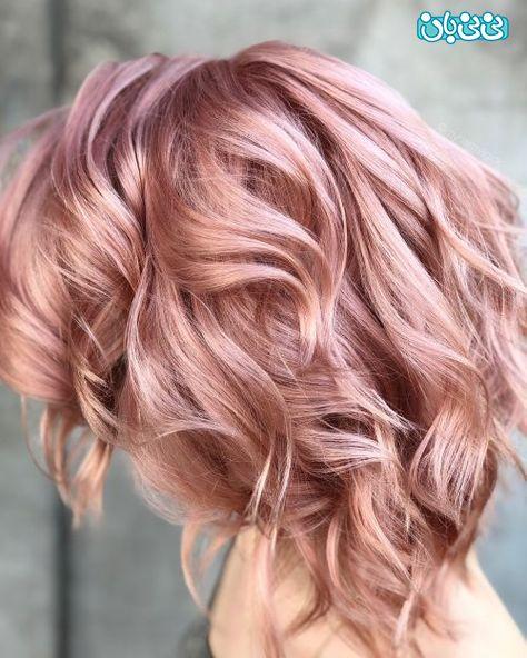 رنگ موی تابستانه 1400