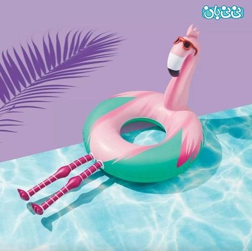 خرید فلامینگو بادی- لوازم تفریحات آبی - لوازم بادی شنا برای کودک، کدامها را بخریم؟
