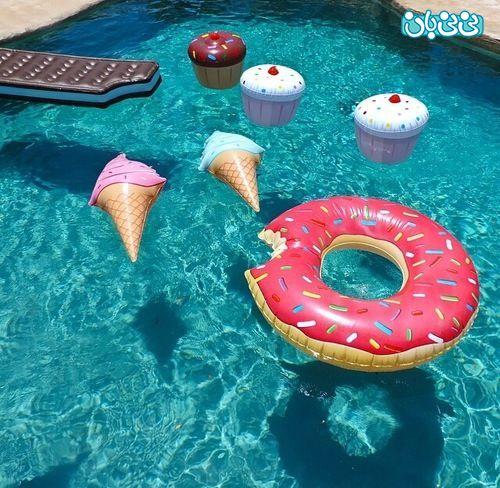 فروش لوازم تفریحات آبی - لوازم بادی شنا برای کودک، کدامها را بخریم؟