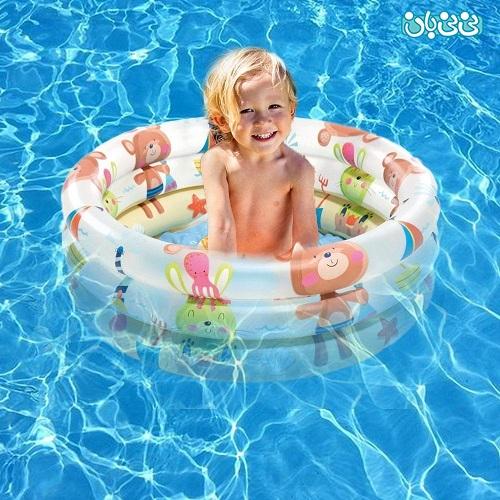 لوازم تفریحات آبی - لوازم بادی شنا برای کودک، کدامها را بخریم؟