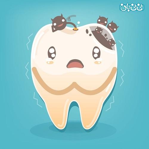 عکس پوسیدگی دندان جلو -علت پوسیدگی دندان، بشناسید و پیشگیری کنید